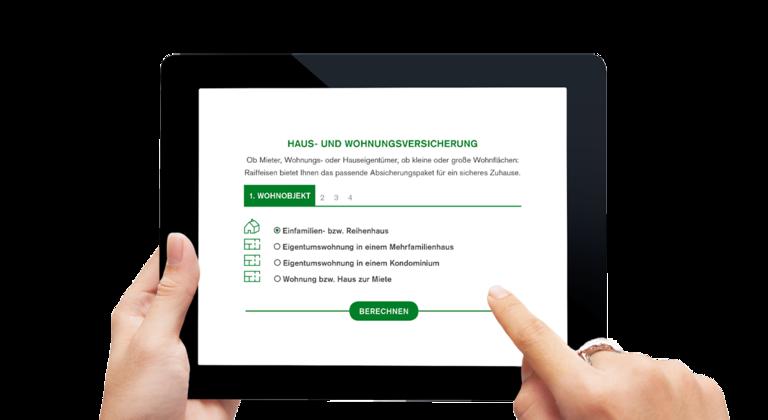 Nuovo servizio online per i clienti raiffeisen magazin for Assicurazione domestica