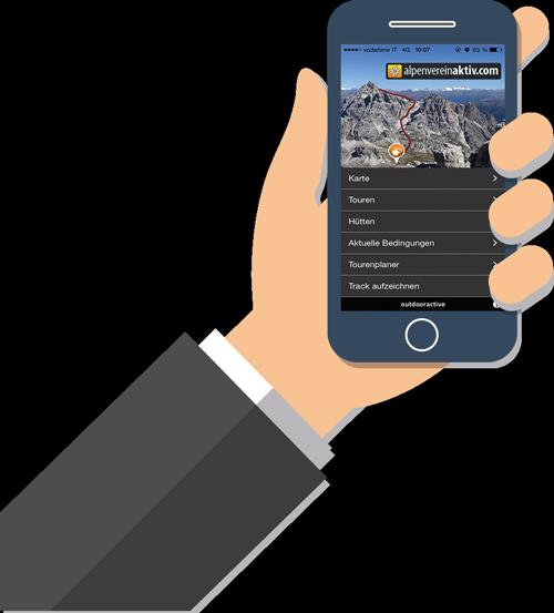 Alpenvereinaktiv-App