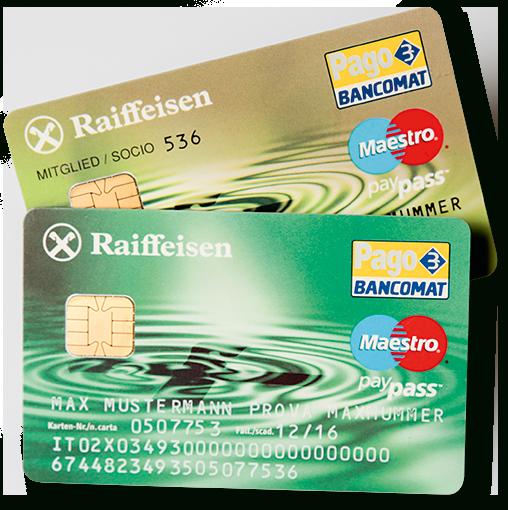 Raiffeisen-Bancomat-Karte