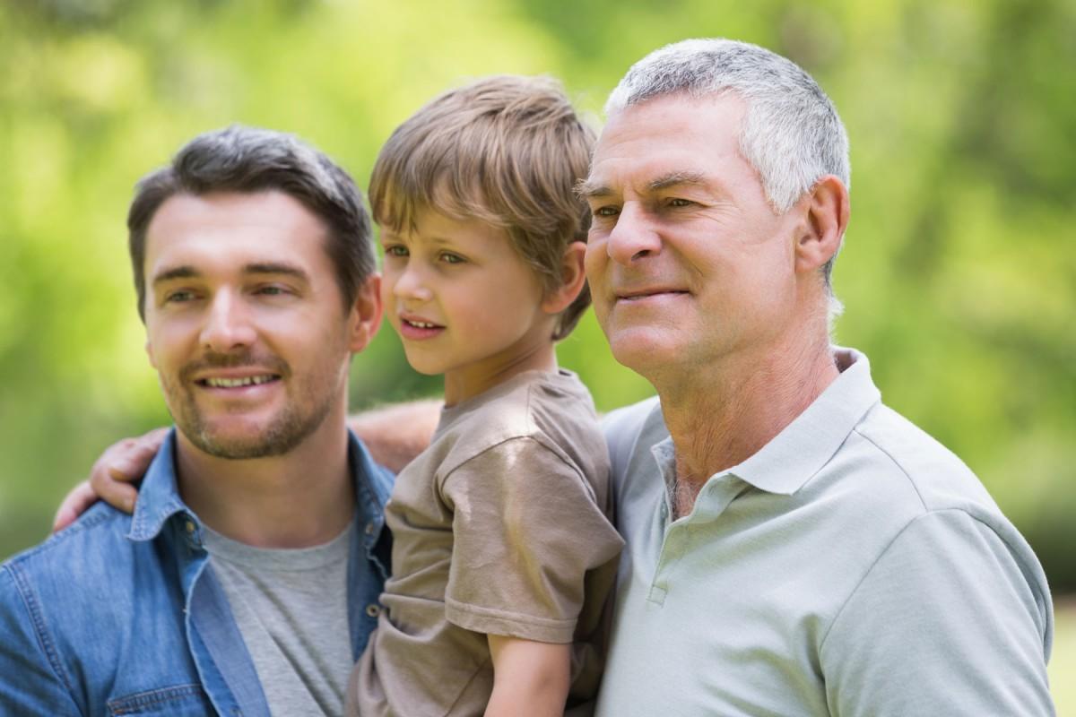 Unsichere Rente – Früher an später denken - 3 Generationen