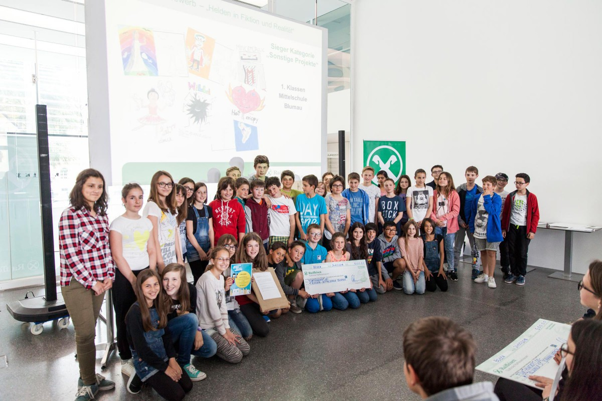 46. internationaler Raiffeisen Jugendwettbewerb – kreative Helden