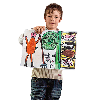 3. Preis: Jonas Plangger, Grundschule Graun