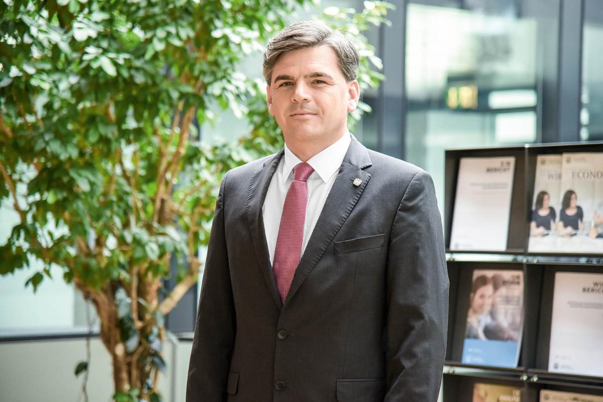 Georg Lun – Direktor des Wirtschaftsforschungsinstitutes (WIFO) der Handelskammer Bozen