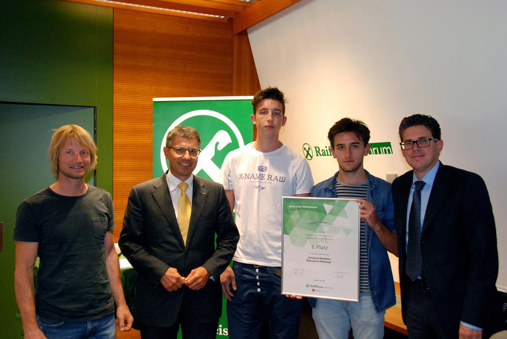 1. Platz: Klasse 5 ER, Sprachen- und Realgymnasium Bruneck