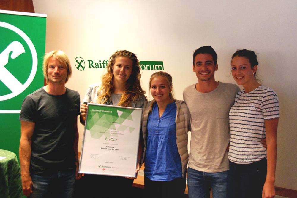 2. Platz: Klasse 5 BS, Sprachengymnasium Bozen