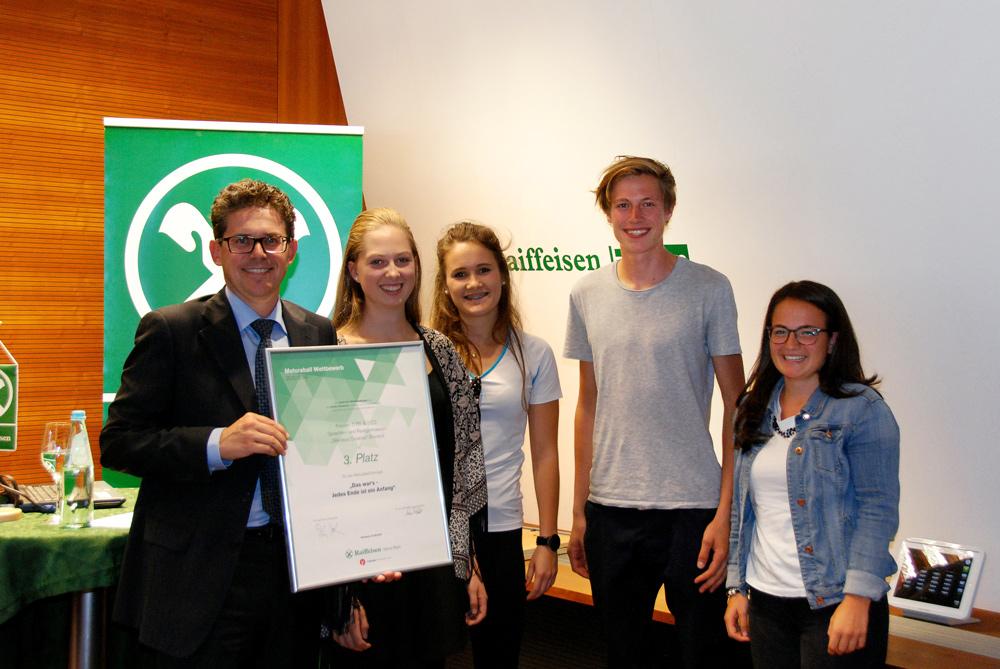 3. Platz: Klassen 5 BS und 5 CS, Sprachen- und Realgymnasium Bruneck