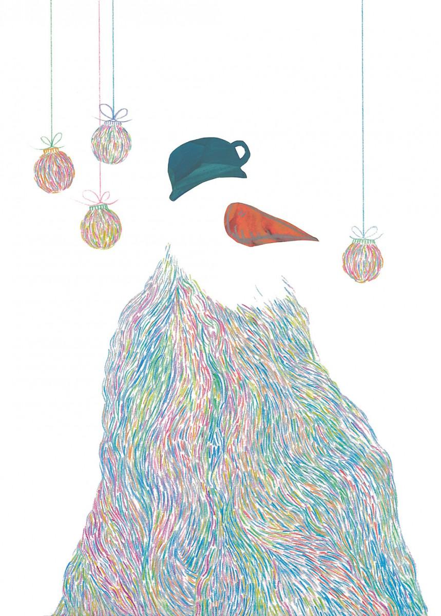 Weihnachtskarte Leitner Cindy