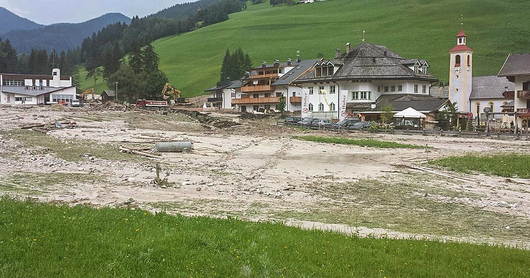 Raiffeisen Spendenaktion Unwetter in Prags