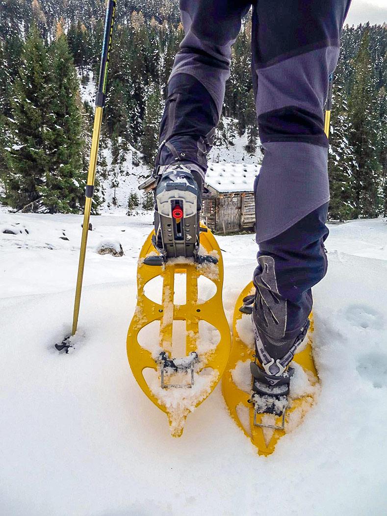 Schneeschuhwanderung durch Tschamintal
