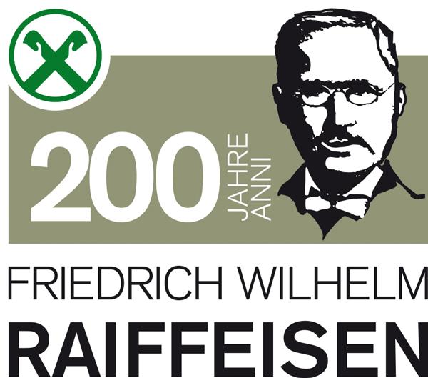 200 Jahre Friedrich Wilhelm Raiffeisen Logo