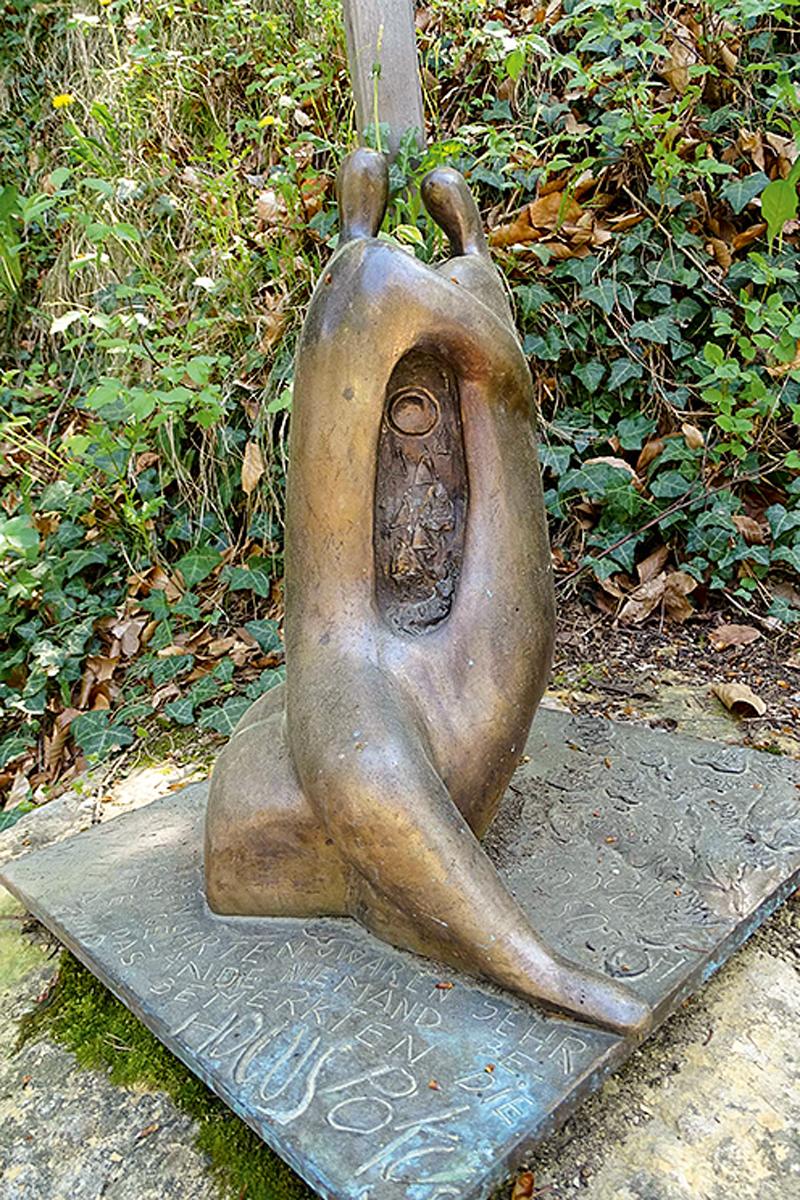 Wandertipp Rundwanderung Laag Buchholz entlang des Duererweges – Skulptur