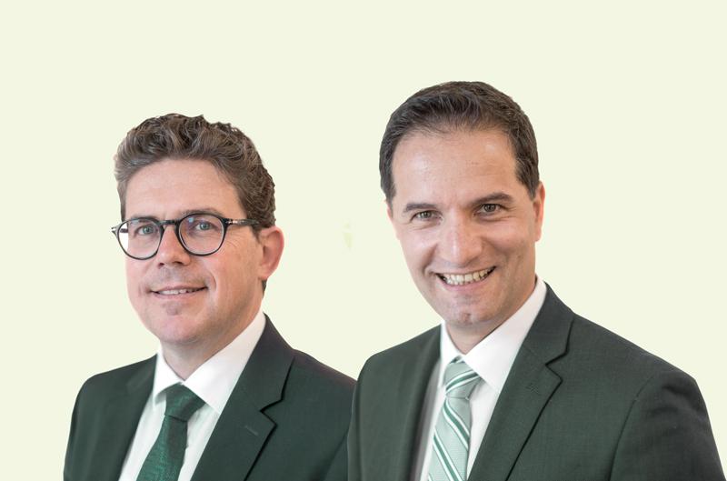 Georg Oberhollenzer und Gerald Hopfgartner
