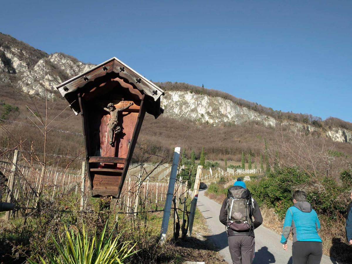 Wanderung zu den Margreider Leiten